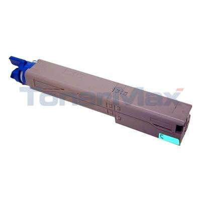 MEDIA SCIENCES TONER CARTRIDGE CYAN HY FOR OKIDATA C3400N